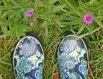 Boots Flowers